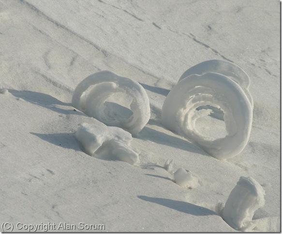 snow rollers, Yukon Territory, Alan Sorum