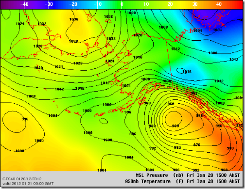 GFS40_Pacific_t85slp_20120120_1200_F012