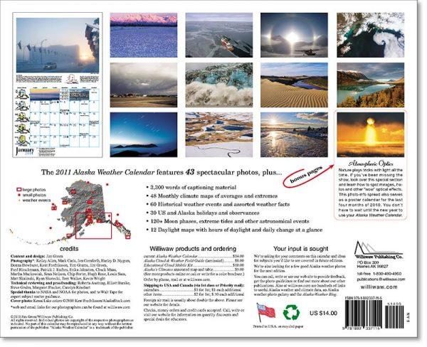 2011 Alaska Weather Calendar-28