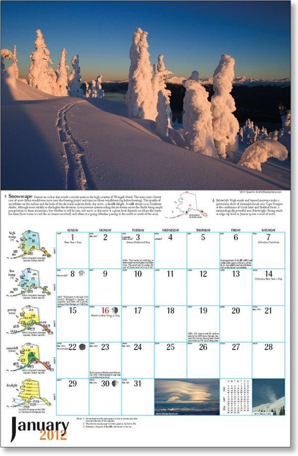 2012 Alaska Weather Calendar-30