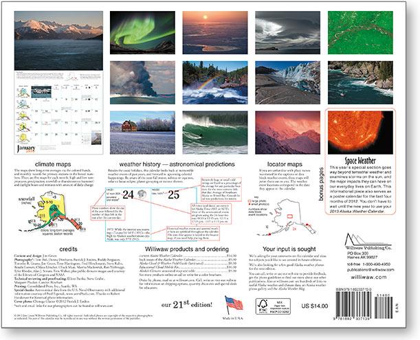 2013 Alaska Weather Calendar-38
