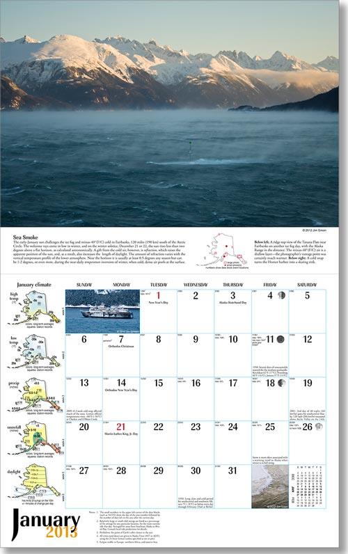 2013 Alaska Weather Calendar-37