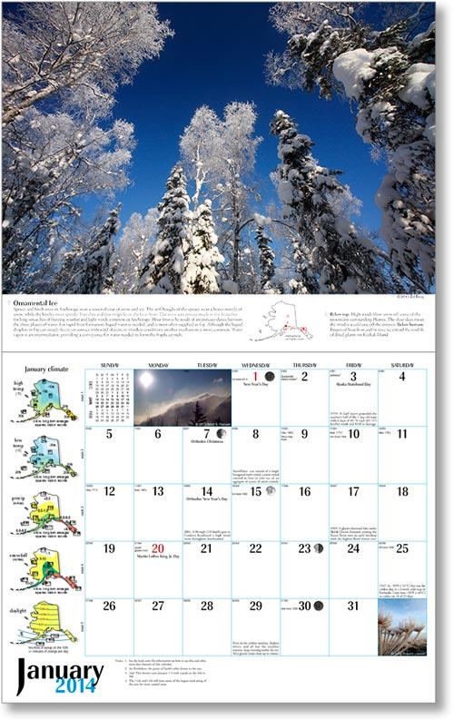 2014 Alaska Weather Calendar-40