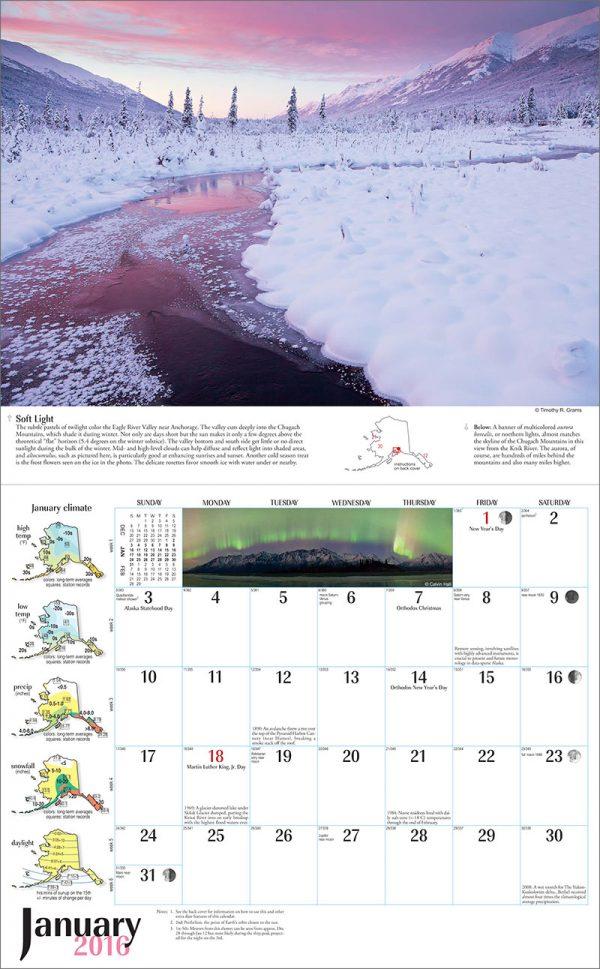 2016 Alaska Weather Calendar-45