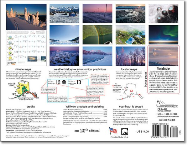 2012 Alaska Weather Calendar-32