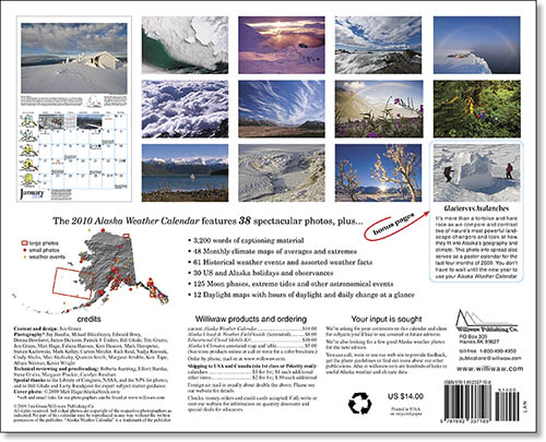 2010 Alaska Weather Calendar-21
