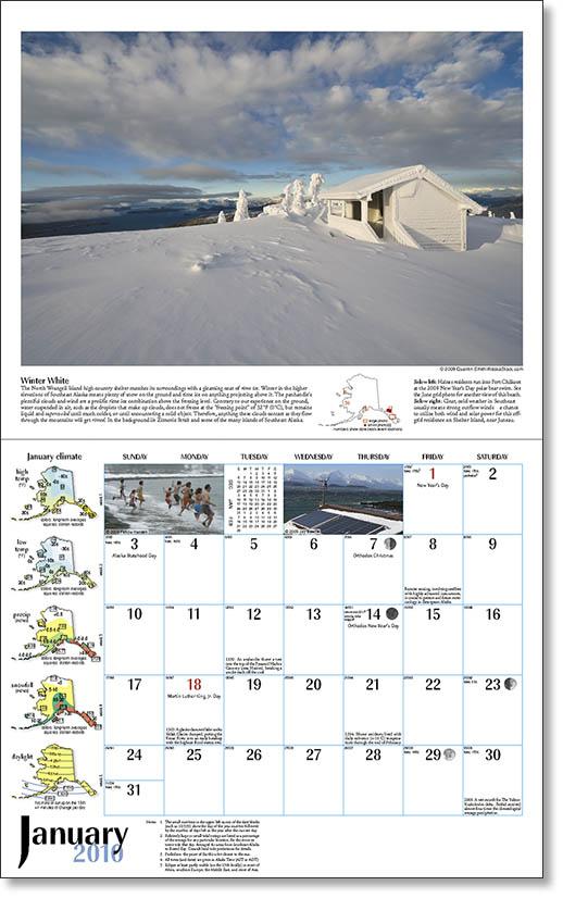2010 Alaska Weather Calendar-20