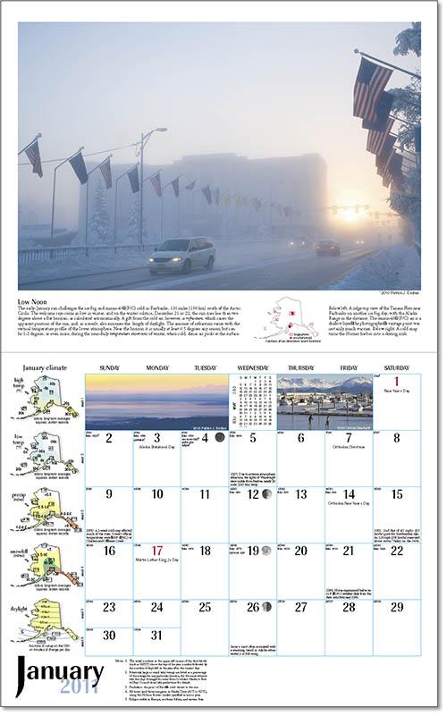 2011 Alaska Weather Calendar-29