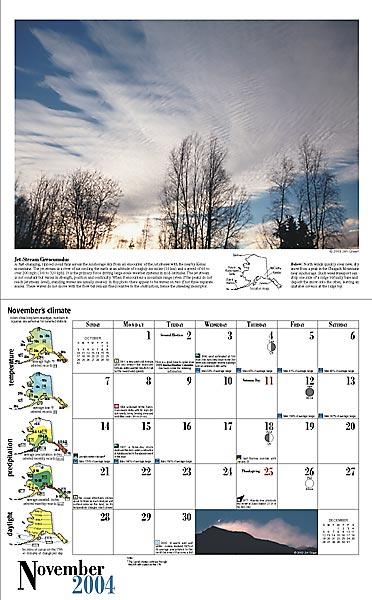 2004 Alaska Weather Calendar-24