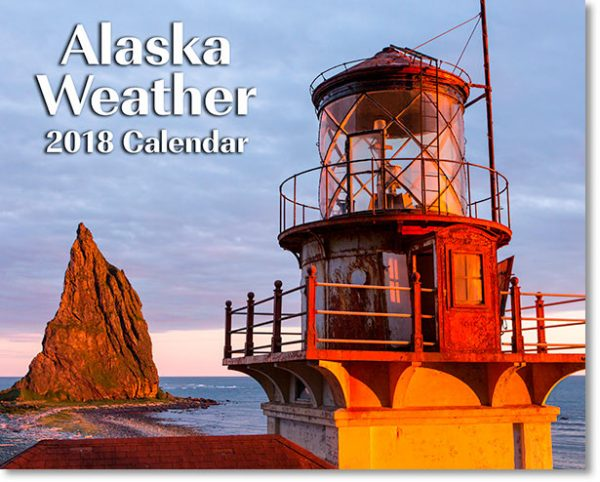 2018 Alaska Weather Calendar