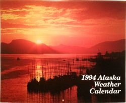 1994 Alaska Weather Calendar cover